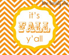 FREE Fall Printables! 3 color combos to choose from!