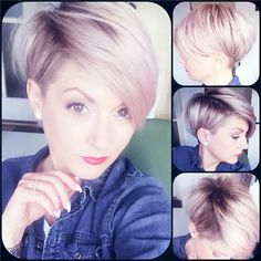 Pixies are one of the best ways to style short hair. These hairstyles are easy to style and maintain and are suitable for almost any face and hair type for Messy Pixie Haircut, Longer Pixie Haircut, Pixie Cut Styles, Short Hair Styles, Short Hair With Layers, Short Hair Cuts, Pixie Hairstyles, Cute Hairstyles, Beautiful Haircuts