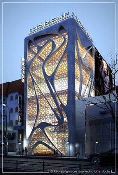 works _ 2013 _ proposal of L'Oreal company @ Sweden , Stockholm, architect : Ahmed Elseyofi