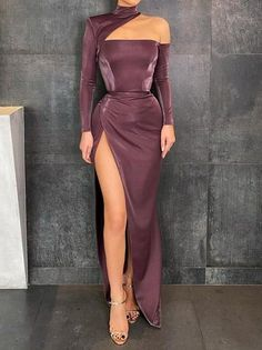 Glam Dresses, Event Dresses, Pretty Dresses, Beautiful Dresses, Fashion Dresses, Elegant Party Dresses, Glamouröse Outfits, Classy Outfits, Evening Dress Long