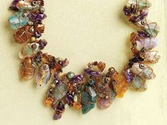 """make the copper and gemstone Elemental necklace by Dale """"Cougar"""" Armstrong - Beautiful, Affordable Handmade Holiday Gifts to Suit All Styles: 6 Reasons to Make Copper Jewelry"""
