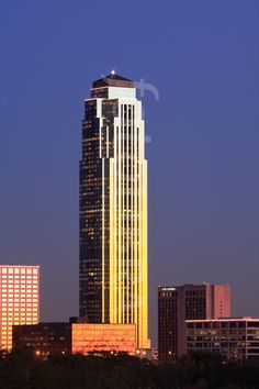 Phillip Johnson's Transco Tower, now known as the Williams Tower.