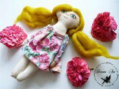 Diana Art, doll, hand made, diy