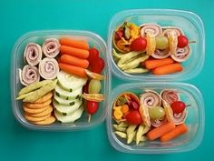 This blog has some great Bento ideas. Lots incorporating the EasyLunchBoxes.