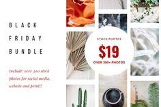 BLACK FRIDAY photo bundle SALE $19 ~ Product Mockups ~ Creative Market #blackfriday #cybermonday #stockphotobundle #creativemarket #shopblackfriday #blackfridayshopping