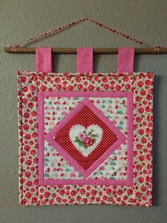 Valentine's Day Wall Hanging - 2015