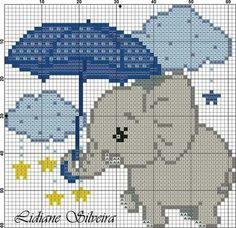 This Pin was discovered by Dan Baby Cross Stitch Patterns, Cross Stitch Baby, Cross Stitch Animals, Cross Stitch Charts, Cross Stitch Designs, Cross Stitching, Cross Stitch Embroidery, Pixel Crochet Blanket, Filet Crochet
