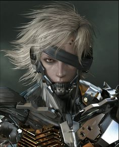 Metal Gear Solid 4 - Raiden Cyborg Ninja