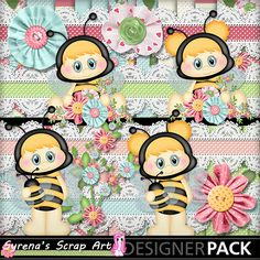 New Busy Bees in my shop! digi #scrapbook kit https://www.mymemories.com/store/display_product_page?id=SESA-CP-1407-66036&r=syrenasscrapart