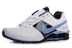 quality design 3b3b3 733e7 NIKE SHOX DELIVER MEN S SHOE WHITE BLACK UNIVERSITY BLUE SALE  80.64 Sports  Footwear, Nike Shox