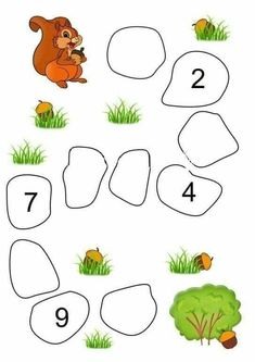 Kids math worksheets - Caterpillar Count to 20 Preschool Learning Activities, Math Classroom, Preschool Activities, Teaching Kids, Kids Learning, Kindergarten Math Worksheets, Kindergarten Lessons, Worksheets For Kids, Numbers Preschool