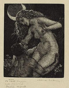 """venusmilk: """" Thief of the Moon by Norman Lidsay (source) """""""