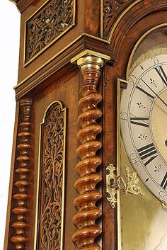 Month Duration Walnut Longcase Clock by Charles Cabrier of London  Charles Cabrier II, son of Charles I and father of Charles III, was the most prominent clockmaker of the three namesakes. The Cabriers were a celebrated dynasty of Huguenot clockmakers who settled in London after the Revocation of the Edict of Nantes (1685). A relatively large number of their clocks - built over a period of half a century - have survived