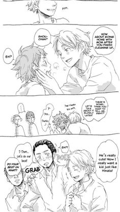 Daichi is so cute when he is jealous over Suga XD