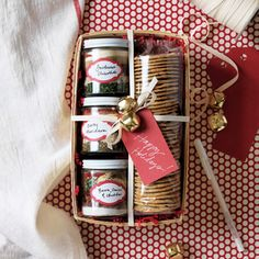 Gifts-in-a-Jar: Jams, Spreads & Sauces | Dip Trio Appetizer Kit  | MyRecipes.com