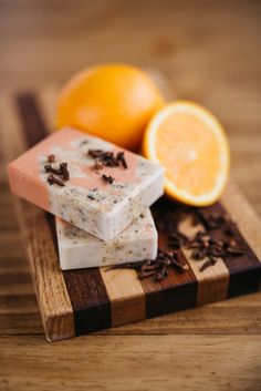 Small Acre Soaps. Orange Clove Goat Milk Soap