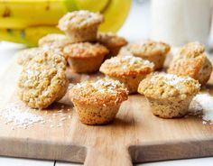 Sugarfree Banana & Coconut Mini Muffins - LunchBox Inc.