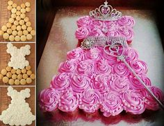 Pretty cake for your princess
