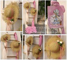 Η τέχνη της Σοφίας: Vintage Sarah Kay Sarah Kay, Baptism Decorations, Baby Girl Baptism, Christening, Arts And Crafts, Birthday, Party, Siri, Matilda