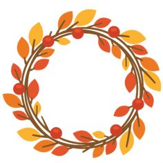 Fall Wreath - Available for FREE today only, Sept 9