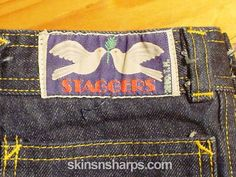 Staggers was THE covetable denim label - I had a pair- super high waisted. Very uncomfortable when you sat, they'd dig into your ribs Weird Fashion, 70s Fashion, Great Memories, Childhood Memories, Rock You Baby, Back To The 80's, Teenage Years, Vintage Jeans, Jeans Style