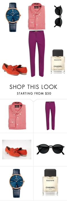 """""""summer✌"""" by mikekamalian ❤ liked on Polyvore featuring Nordstrom, Topman, Christian Louboutin, BOSS Hugo Boss, Chanel, men's fashion and menswear"""