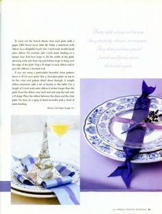 Wedding Paris Style - Table Settings - bhg.com