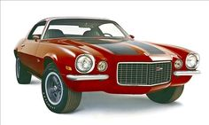1970 1/2 Chevrolet CamaroThe 1969 model may be the most iconic Camaro, but the '70 1/2 featured the most inspired design. The swoopy lines a...
