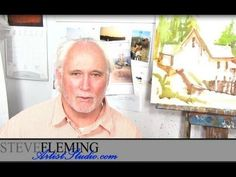 Watercolor Tutorial: Using White Space