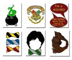Oggetti di scena di Harry Potter Foto stand: festa a tema