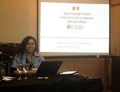 Docente de la UNID presenta en importante congreso: «Aprendizaje móvil: experiencias y nuevas perspectivas»