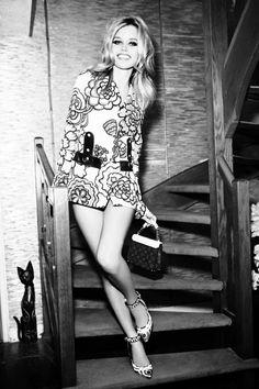Georgia May Jagger por Ellen Von Unwerth para Vogue Rússia Janeiro 2015  [Editorial]