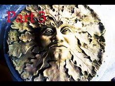 Modeling clay SCULPTURE - GUARDIAN of FOREST - making of ceramic plastic...