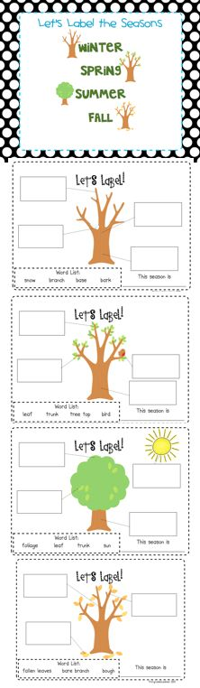 Label It! Landforms, Habitats, and Seasons (Freebie and Giveaway) - First Grade Blue Skies