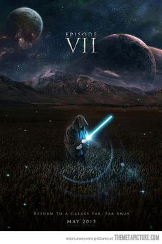 Cool fan-made  StarWars  Episode 7 poster