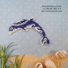 Petit dauphin inspiré d'un tatouage polynésien, pour aller avec ma tortue, réalisée pour le defi avec @perlesandco et @lili_azalee Bon dimanche! #dauphin #mer #sea #polynesie #tatouage #maritime #motifcoeurcitron #jenfiledesperlesetjassume #perlesaddict #perlesaddictanonymes #jesuisunesquaw #tissage #tissageperles #miyuki #miyukibeads #jesuisunesquaw #diy #handmade #beads #perlesandco #perlescorner