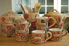 dóza na cibuli-rezervace / Zboží prodejce lavender Lavender, Weaving, Woodworking, Diy Projects, Pottery, Mugs, Knitting, Tableware, Ceramics Ideas