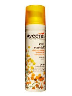 Aveeno Smart Essentials Daily Moisturizer with SPF 30 ($14.99) my skin is soo soft  it