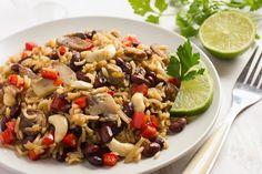 Nόστιμο ριζότο με μανιτάρια, συνταγές για χορτοφάγους χωρίς γλουτένη