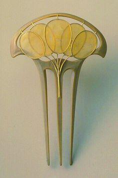 Lucien Gaillard hair ornament