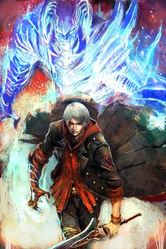 nero dmc4 by ~longai on deviantART
