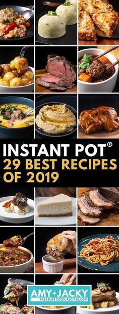 Here are the Instant Pot & Pressure Cooker users' Favorite & Most Popular Instant Pot Recipes of Which ones are your favorites? Here are the Instant Pot & Pressure Cooker users' Favorite & Most Popular Instant Pot Recipes of Which ones are your favorites? Best Instant Pot Recipe, Instant Recipes, Instant Pot Dinner Recipes, One Pot Recipes, Best Pressure Cooker Recipes, Instant Pot Pressure Cooker, Slow Cooker, Instant Cooker, Pressure Cooking