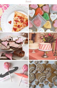 cute party food- LOVE those cookies in #6 :)
