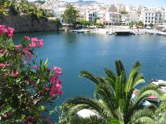 Agios Nikolaos Kreta Places To See, Places Ive Been, Visit Greece, Crete Island, Travel Destinations, Beautiful Places, Highlights, Europe, City