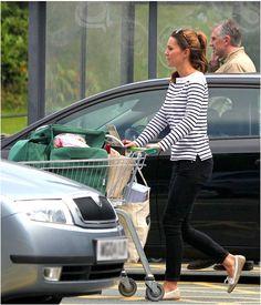 Kate Middleton sale de compras tras un mes de haber dado a luz
