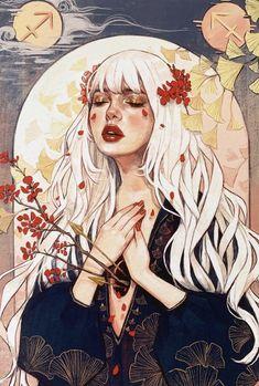 Girly Drawings, Cartoon Drawings, Art Drawings, Character Art, Character Design, Arte Sketchbook, Witch Art, Zodiac Art, Anime Art Girl