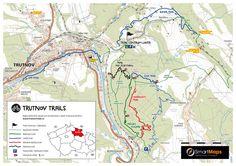 Celková mapa trailů