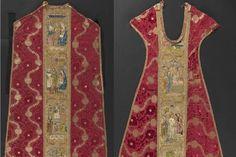 Hallan un manuscrito del s. XIV oculto en dos casullas 'gemelas' de Nueva York y Segorbe | Castellón | elmundo.es