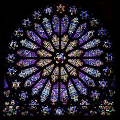 File:The north transept rose window at St-Denis.png