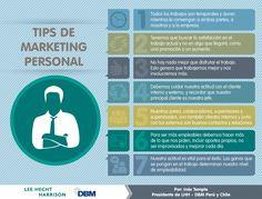 Hola: Una infografía con 7 consejos de marketing personal. Un saludo